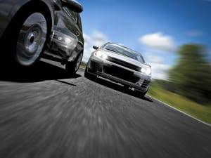 """""""Kolonnenspringen"""" birgt beim Überholen ein großes Unfallrisiko für alle Verkehrsteilnehmer."""