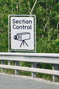 Als Radaranlagen gelten auch die sogenannten Section-Control-Geräte.