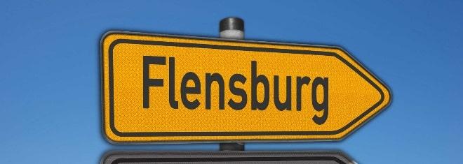 8 Punkte in Flensburg haben Konsequenzen für den Führerscheinbesitzer.