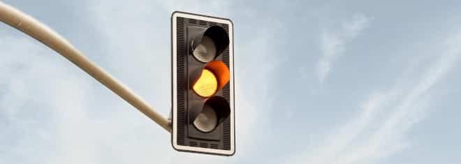 Gelbe Ampel überfahren: Können Sie geblitzt werden?