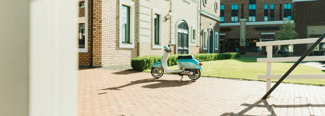 Es gibt einige Punkte, die Sie bei Fahrten mit einem Kleinkraftrad beachten sollten.