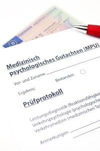 MPU-Gutachten: Ohne Vorbereitung können Sie sich davon wohl verabschieden.