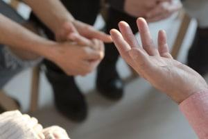 Die Nachschulung findet in Form von Gruppengesprächen statt.