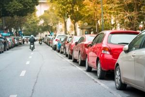Es liegt eine Ordnungswidrigkeit vor, wenn Sie falsch geparkt haben.