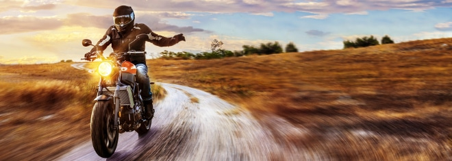 Welche Promillegrenze müssen Motorrad-Fahrer beachten?