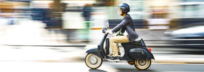Richtig Roller fahren: Regeln beachten und Bußgelder vermeiden!