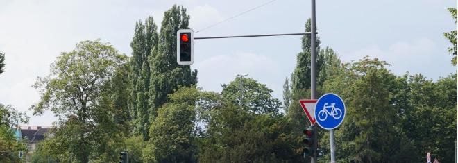 Was passiert, wenn Sie eine rote Ampel übersehen haben?