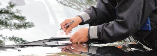 Können Sie gegen einen Strafzettel wegen falschem Parken Einspruch einlegen?