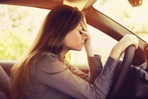 Was nach einem Unfall während der Probezeit passiert, hängt von der Unfallursache ab.